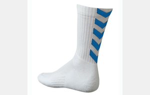 Chaussettes Hummel Authentic Indoor - Blanc / Royal