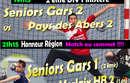 Seniors Gars 1 VS Morlaix 2 & Seniors Gars 2 VS Abers